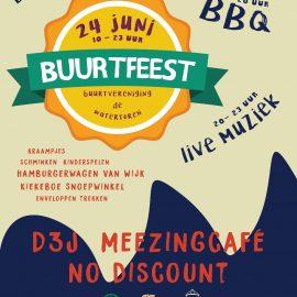 Uitnodiging Buurtfeest 24 juni