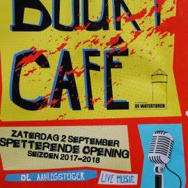 Buurtcafe spetterende opening zaterdag 2 september