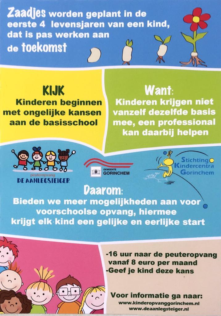 Poster Peuteropvang | Voorschoolse opvang